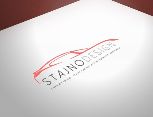Stajno logo design