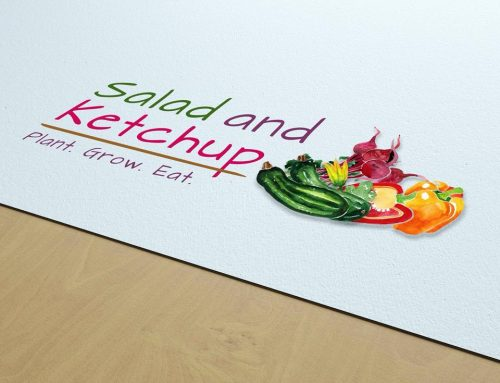 Salad and Ketchup branding