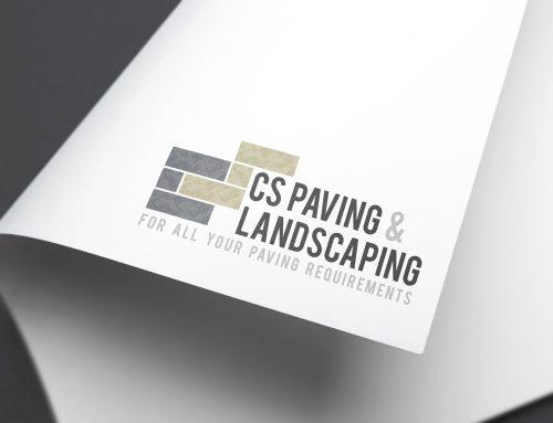 CS Pavings branding
