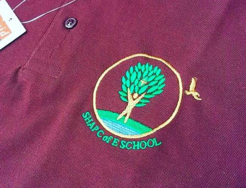 Shap C of E School branding