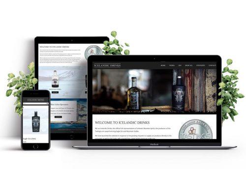 Icelandic Drinks website