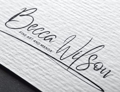 Becca Wilson Art branding