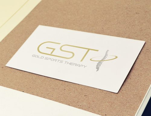 Gold Sports Therapy branding